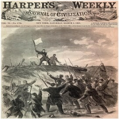 Harper's Weekly image of surrender